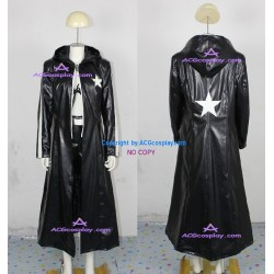 Vocaloid Black Rock Shooter Cosplay Costume pleather made