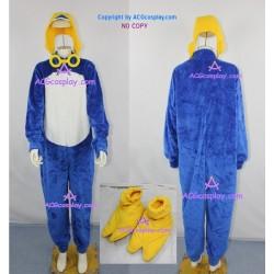 Pororo the Little Penguin Pororo cosplay Costume include glasses prop