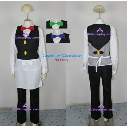 pokemon Cilan cosplay costume Pokemon Cress cosplay costume pokemon Chili Cosplay Costume