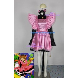 Cardcaptor Sakura Sakura Kinomoto Cosplay Costume include petticoat make skirt stick out ACGcosplay