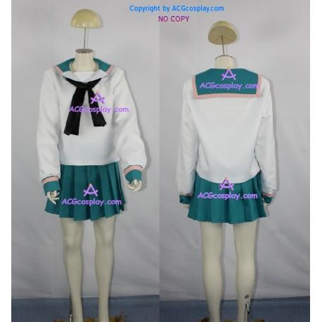 A Channel girl Uniform Cosplay Costume school uniform girl skirt