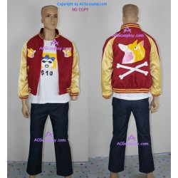 Ace Attorney Wocky Kitaki Cosplay Costume
