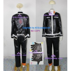 Air Gear Itsuki Minami Cosplay Costume faux leather made include gloves