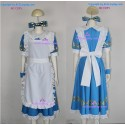 Alice in country of Heart Alice Liddell Cosplay Costume include hair ornament