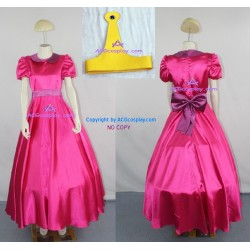 Adventure Time Princess Bubblegum Cosplay Costume lolita dress include petticoat