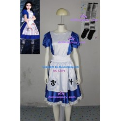 Alice Madness Returns maid Alice cosplay costume
