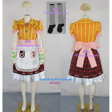 Alice Madness Returns Alice Cosplay Costume include stockings