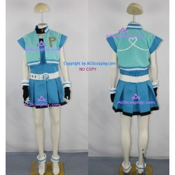 PowerPuff Girls Z Bubbles Cosplay Costume include good quality belt props buckle props
