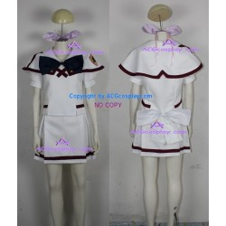Macross Frontier Ranka Lee cosplay Costume uniform skirt