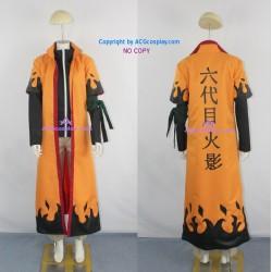 Naruto Uzumaki Naruto 6th Hokage cosplay costume