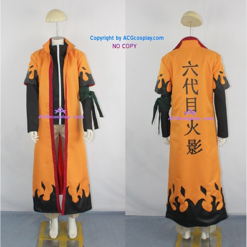 Naruto Uzumaki 6th Hokage Cosplay Costume