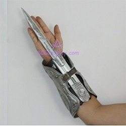 Assassin's Creed brotherhood hidden blade Ezio Auditore Gauntlet replica cosplay prop resin made