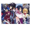 Gundam cosplay wig